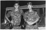 Lt. Vogel and Ed Tremper