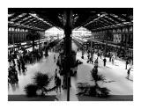 La gare de Lyon. - Paris