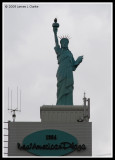 Lady Liberty in Osaka