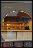 Through the round window