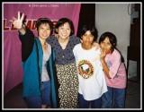 Jasmine, Kartika, Dee and Hu