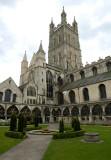 A Gloucester Katedrális  -  Gloucester Cathedral