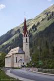 Holzgau Church - Austrian