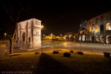 Arch of Constantine & The Colosseum At Night
