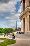 Eiffel Tower From Les Invalides