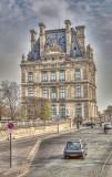 The Louvre From Quai des Tuileries