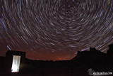 Temple Mountain Startrail