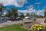 Flags at Fenelon Falls