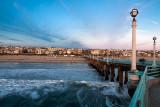 Manhattan pier and beach