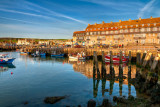 Harbour and hotel, West Bay