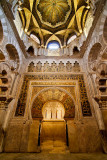 Dome and archway , Mezquita, Cordoba