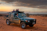 Team in the Land Cruiser, Ol Jogi