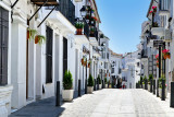 Quiet street in Mijas
