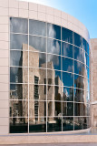 Getty Center reflection