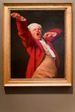 'Self-portrait, yawning', by Joseph Ducreux