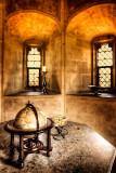 Globe and windows, Lacock Abbey