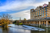Weir and River Avon, Bath