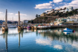 Bridge and harbour, Torquay, Devon