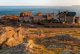 Lighthouse cottages, La Corbiere, Jersey