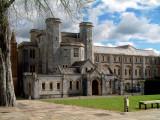 Buckfast Abbey ~ Abbots Tower & monastery (1753)