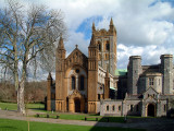 Buckfast Abbey ~ wide view