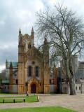 Buckfast Abbey ~ main door and tree