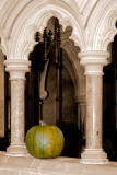 Milton Abbey ~ pumpkin and arch