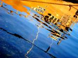 Reflet au Salin dHyères