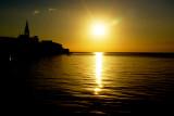 Porec -  coucher de soleil