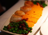 Scallops and Root Vegetable Puree