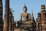 Parc historique du sukhothai, inscrit au patrimoine mondial de l'Unesco