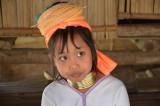 Petite fille d'un camp de réfugiés Karen - Chiang Rai