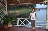 Sur les bords du Mekong, très tôt le matin