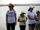 Rocio, Laura, Sandra, and Rachel at Boca del Rio Grande