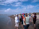 Group at Boca Chica Beach, Boca del Rio Grande