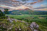 Mount Ida Sunset