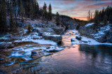 Elbow Falls Sunrise