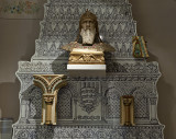 Fireplace of St. Stephen, Buda Castle