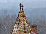 Zsolnay family villa roof