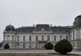 Festetics Palace, front garden