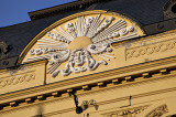 Setting sun in Szeged