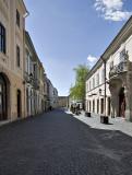 Győr, quiet side street