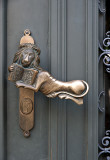 City of stylish doorknobs