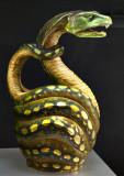 Snake pitcher (1900)