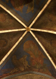 Abbey ceiling, detail