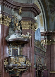 St. István Cathedral, pulpit