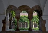 Cloister at the chapel
