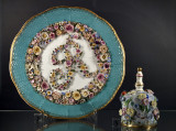 Elegant plate (mid-19th century)