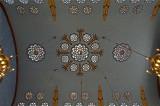 Kazinczy St. Synagogue, Art Nouveau ceiling