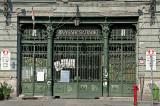 Old central market door